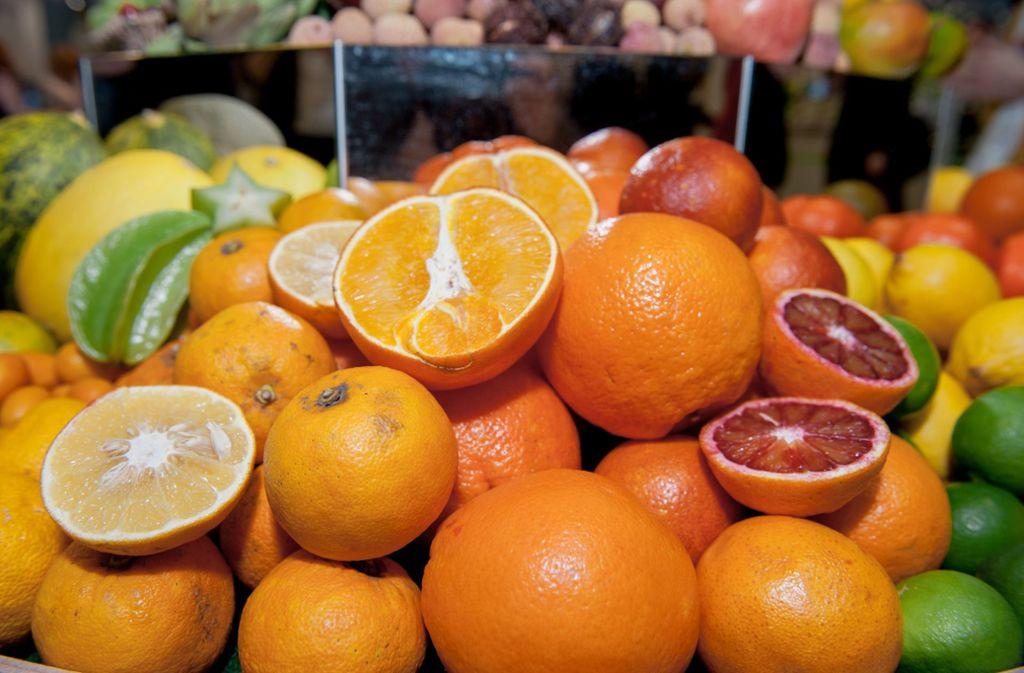 In Deutschland wurden Rückstände des Pflanzenschutzmittels auf Obst gefunden. (Symbolbild) Foto: dpa/Felix Zahn