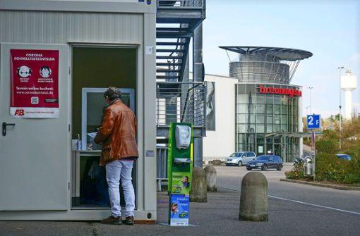 Schnelltests: Einkaufcenter hoffen auf die Zeit danach