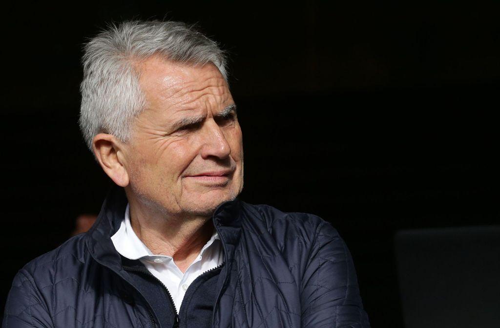 Wolfgang Dietrich wurde im Oktober 2016 Präsident des VfB Stuttgart – und muss nun den Wiederaufstieg planen. Foto: Baumann