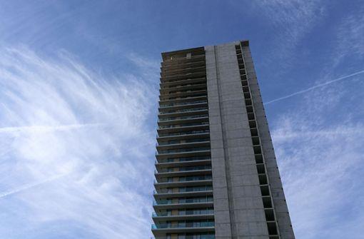 Auch halb fertig kostet der Wohnturm 15 Millionen Euro