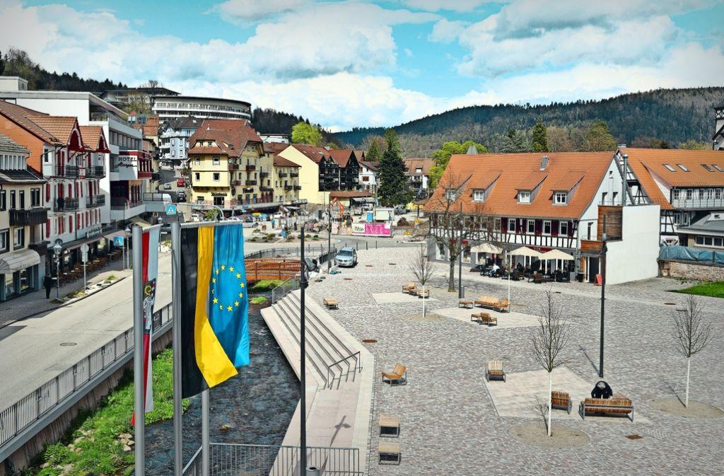 In der Bad Herrenalber Kernstadt ist man nach Karlsruhe hin orientiert. In manchen Teilorten jedoch sieht das anders aus. Foto: dpa