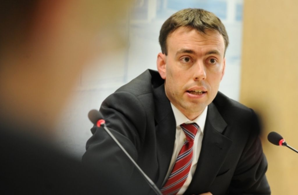 """Sein Ministerbüro hatte eine """"Jahresabschlussfeier"""" angekündigt: Nils Schmid Foto: dpa"""