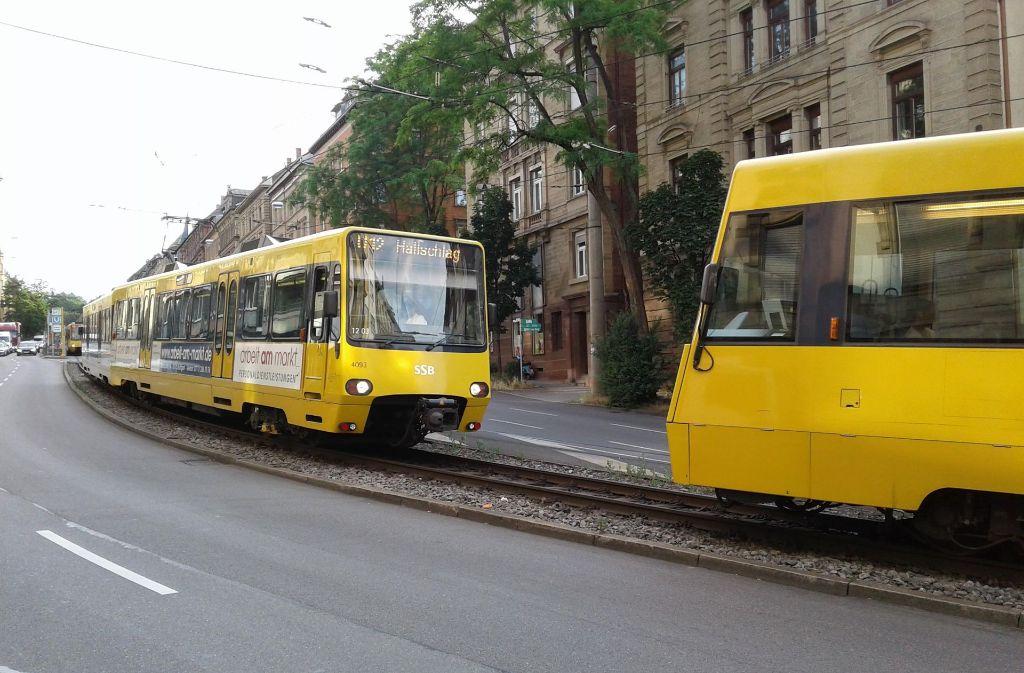 Eine technische Störung sorgte am Dienstagabend für ein Stadtbahn-Chaos in Stuttgart. Foto: 7aktuell.de/Andreas Friedrichs