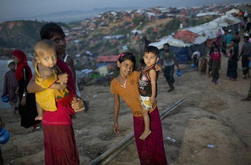 Keine Beweise für Gräueltaten an Rohingya