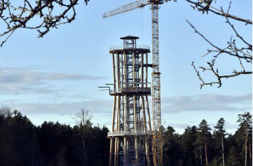 Neuer Aussichtsturm im Schwarzwald