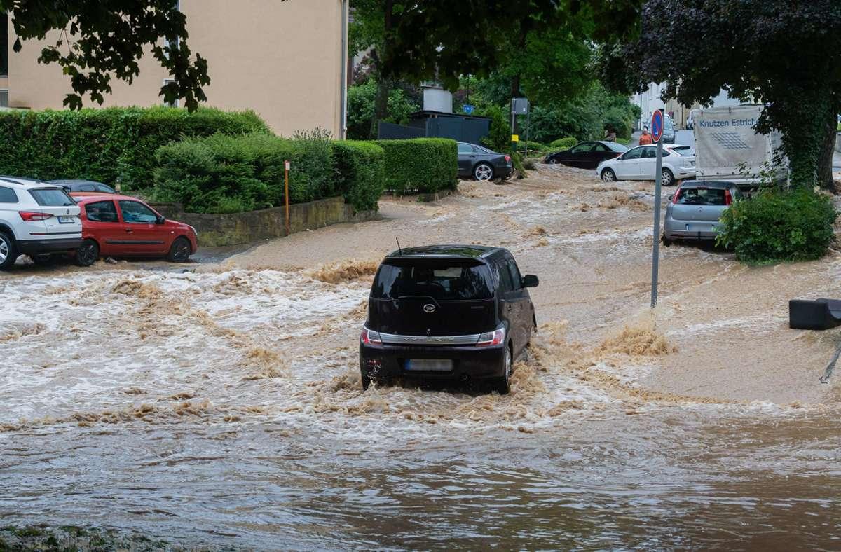 Das Unwetter in Teilen Deutschlands hat etwa in Hagen ganze Stadtteile unter Wasser gesetzt. Foto: imago images/Marius Schwarz/Marius Schwarz via www.imago-images.de