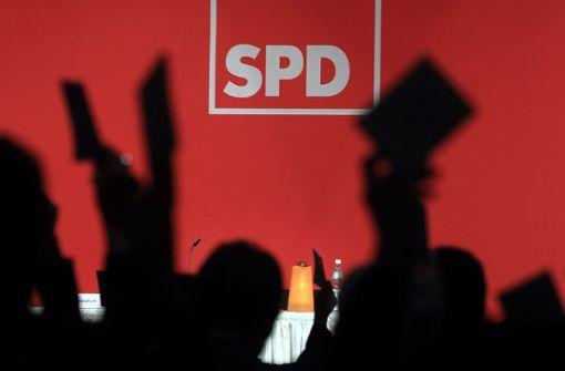 SPD rutscht bei Umfrage auf Rekordtief