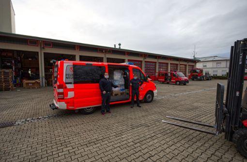 Feuerwehr sammelt Spenden für Kroatien