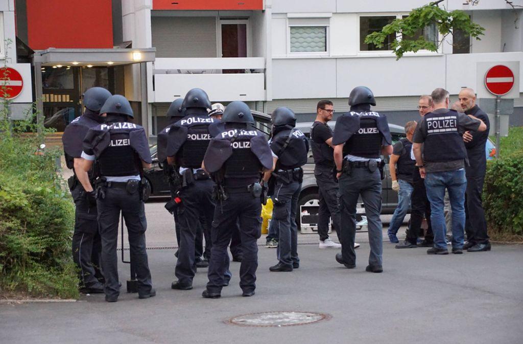Nach der Bluttat in der Fasanenhofstraße ist der Täter gefasst – doch wer ist er wirklich? Foto: 7aktuell.de/Andreas Werner