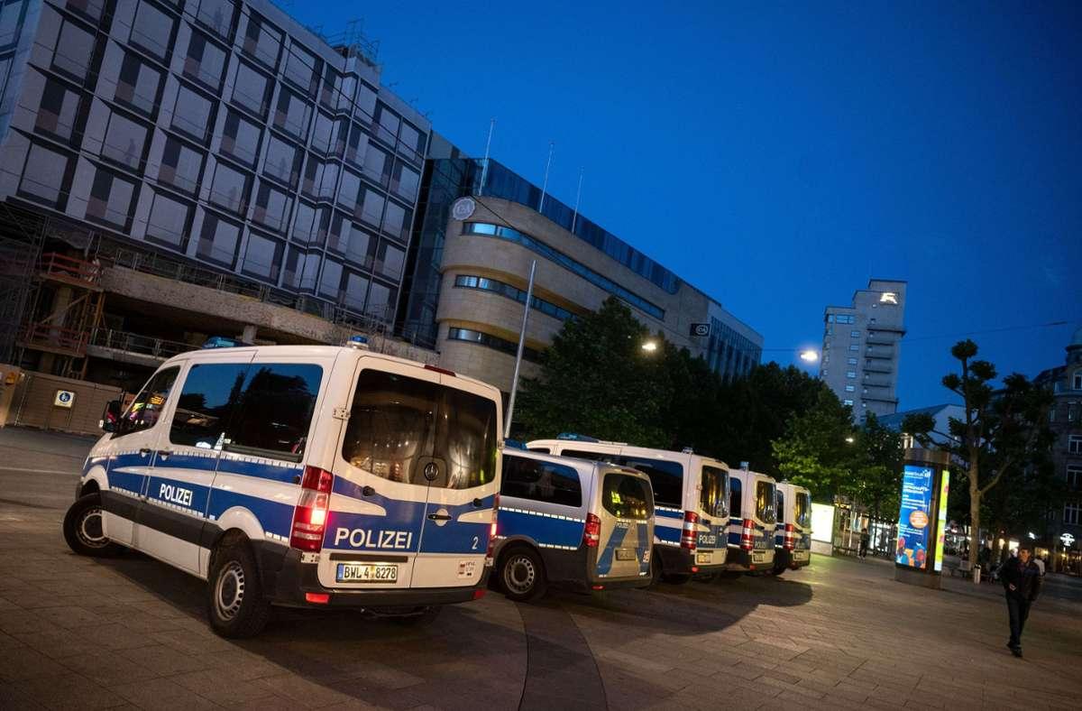 Die Aufarbeitung der Stuttgarter Krawallnacht dauert an. Foto: dpa/Marijan Murat