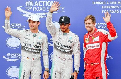 Hamilton schnappt sich Pole Position