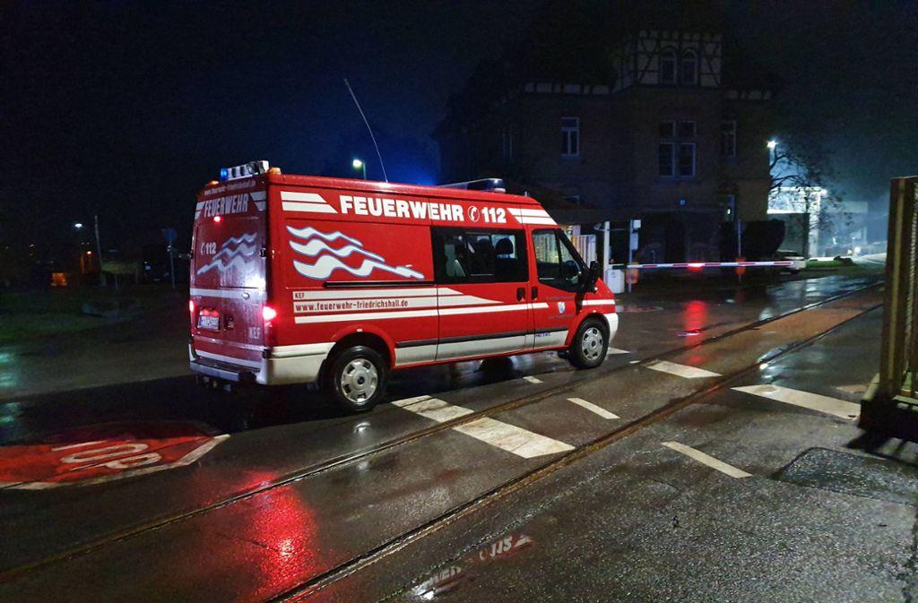 Die Feuerwehr war in Bad Friedrichshall im Einsatz. Foto: 7aktuell.de/ JB/7aktuell.de   JB