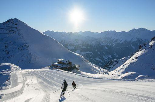Dinieren und Übernachten am höchsten Punkt des Skigebiets
