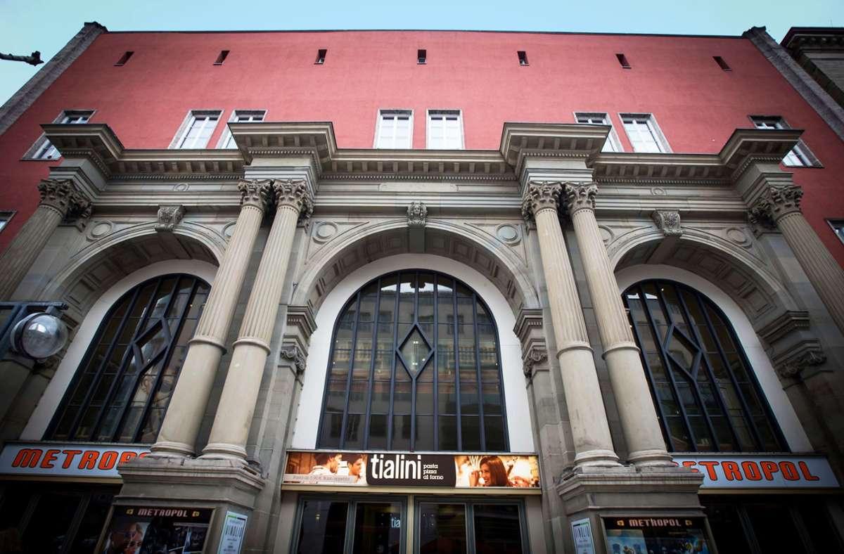 In den Kinosälen hinter  der Fassade des alten Stuttgarter Bahnhofs fällt Ende Dezember der letzte Vorhang. Foto: Lichtgut/Achim Zweygarth