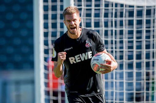 Köln siegt 9:1 – Ex-VfB-Spieler trifft gleich vier Mal