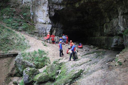 Höhlengänger hatte Glück im Unglück