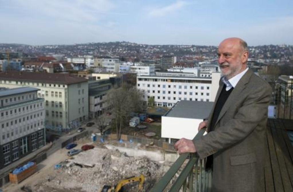 Helmut Müller hat viel aufgebaut – und nun auch abreißen lassen. Foto: Achim Zweygarth