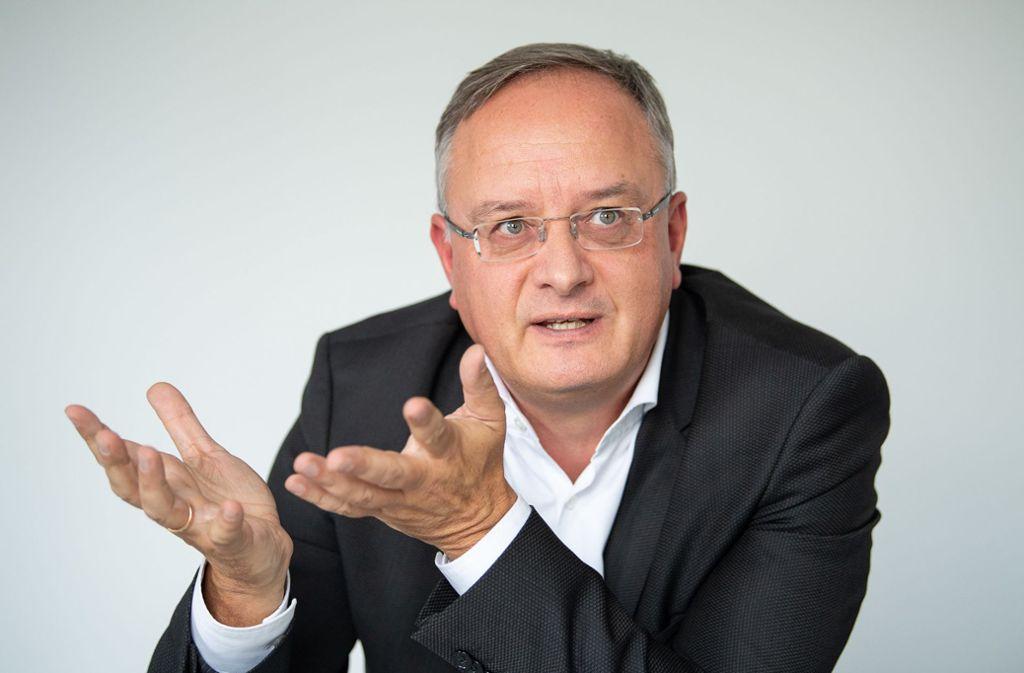 Nach Stochs Wahrnehmung hat die SPD in Berlin Druck gemacht beim Klimaschutz. Foto: dpa/Sebastian Gollnow