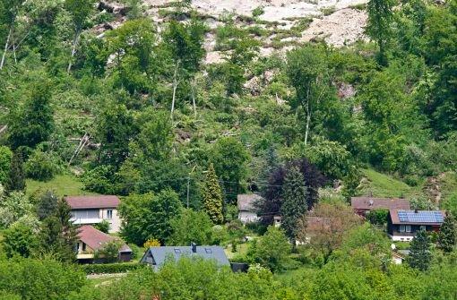 Evakuierte Häuser in Mössingen über Wochen unbewohnbar