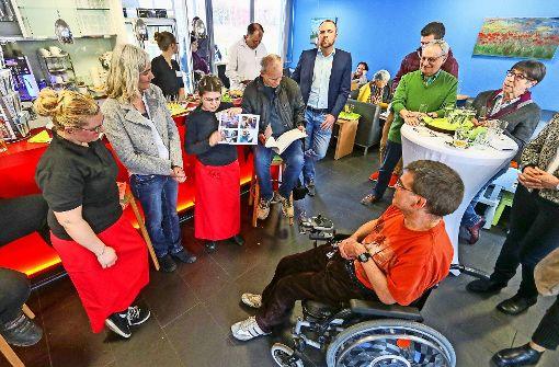 Café für Menschen mit und ohne Behinderung