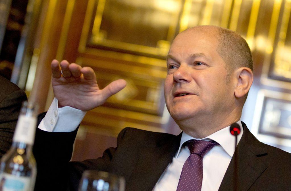 Finanzminister Olaf Scholz (SPD) sieht begrenzten Spielraum für neue Ausgaben. Foto: dpa