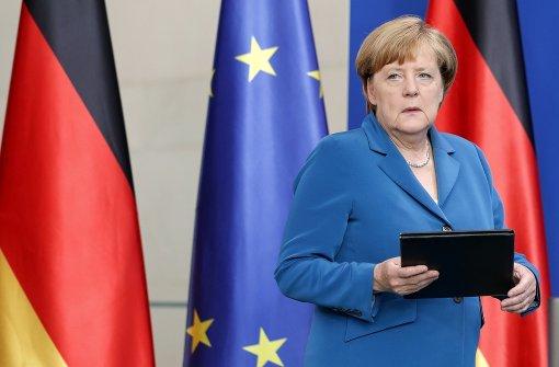 Merkel stellt sich der Unsicherheit