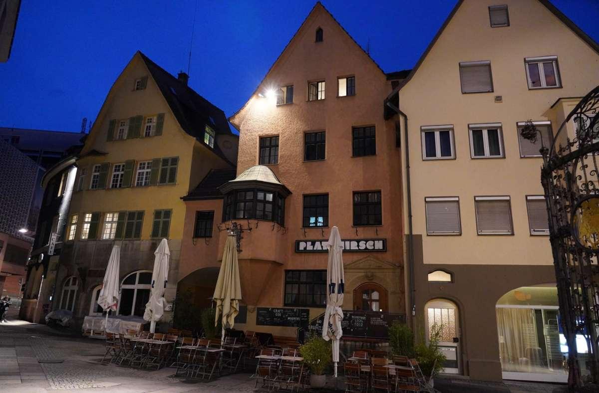 Fotograf Andreas Rosar hat Stuttgarter Restaurants und Cafés während des zweiten Lockdowns in Bildern festgehalten. Foto: Andreas Rosar/Fotoagentur-Stuttgart