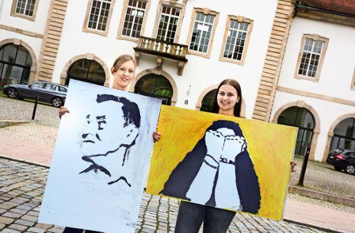 Das Amtsgericht als Kunstgalerie