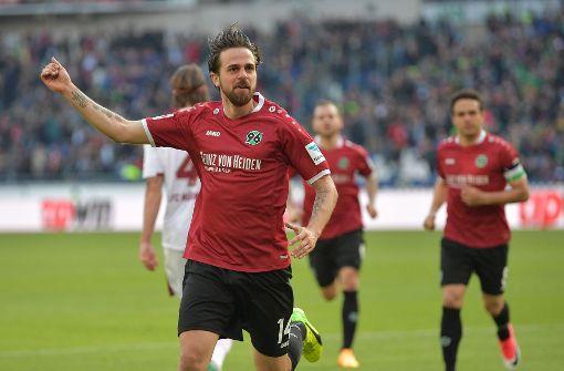 Hannover 96 nach 1:0-Sieg über Nürnberg neuer Tabellenführer