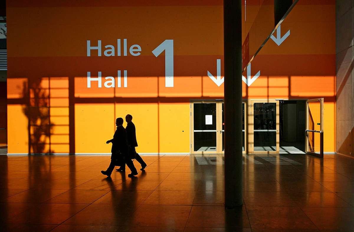 Erneut Stillstand auf der Landesmesse: Zwei fürs Wochenende geplante Veranstaltungen sind untersagt. Foto: ImagoStock/Wilhelm Mierendorf
