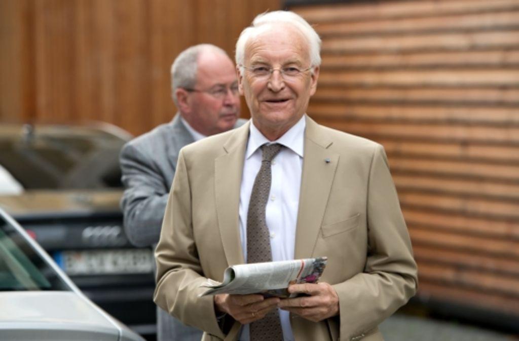 Edmund Stoiber, früher bayrischer Ministerpräsident und heute Sonderberater für Bürokratieabbau Foto: DPA