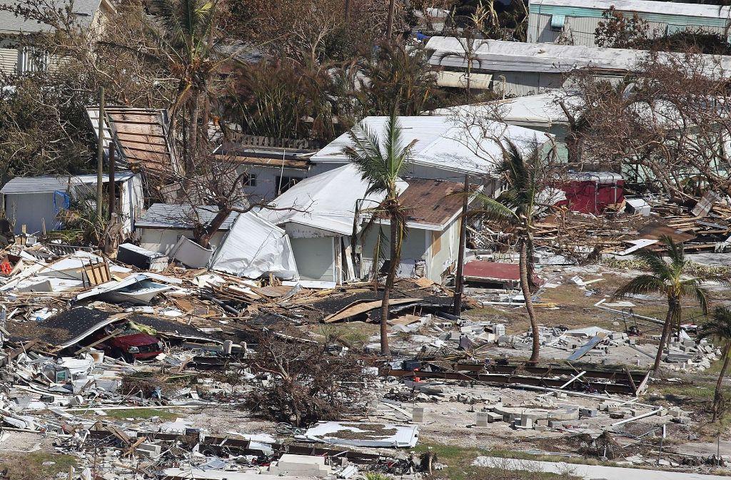 Bild der Verwüstung nach Hurrikan Irma in Florida Foto: GETTY IMAGES NORTH AMERICA