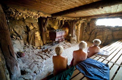 Sauna wird erweitert