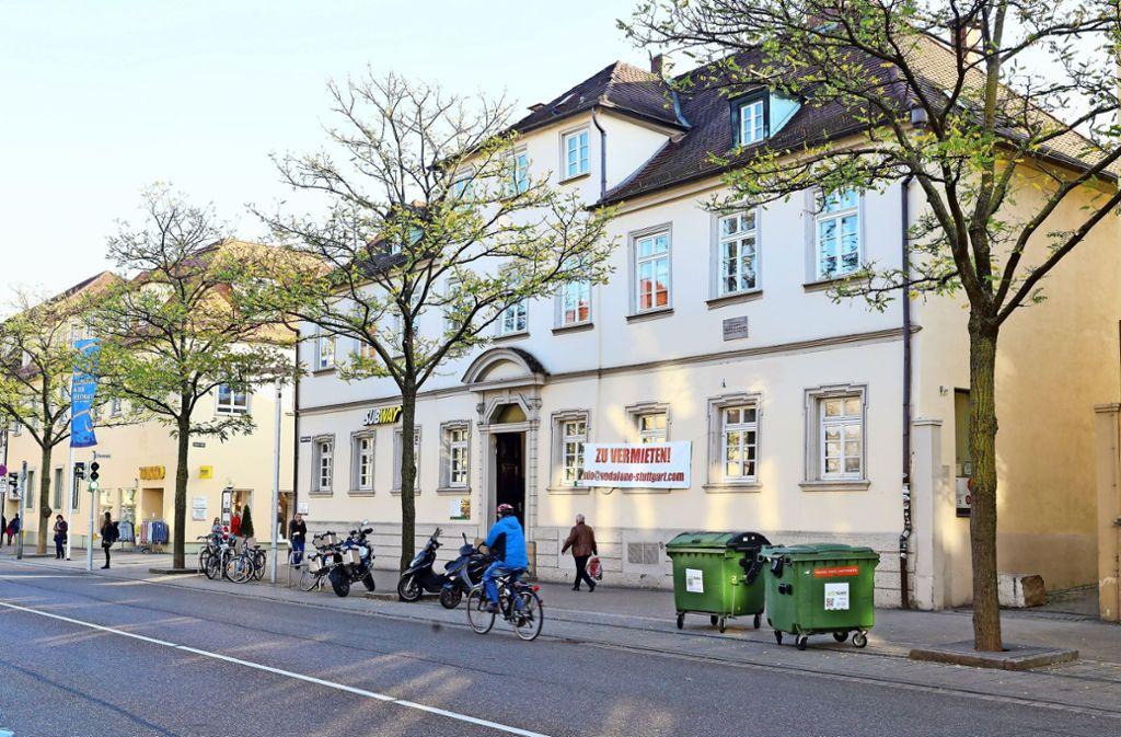 Friedrich Schiller wohnte 1793 im Haus Wilhelmstraße 17. Foto: factum/Simon Granville