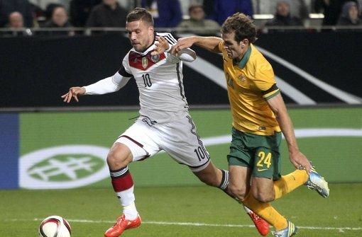 Podolski bewahrt DFB-Team vor Pleite