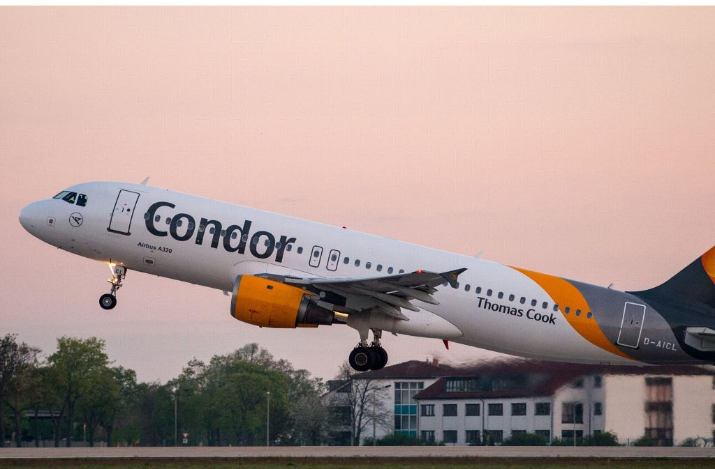 Condor-Fluggäste haben ihren Mallorca-Urlaub unfreiwillig verlängern müssen. (Symbolbild) Foto: dpa-Zentralbild