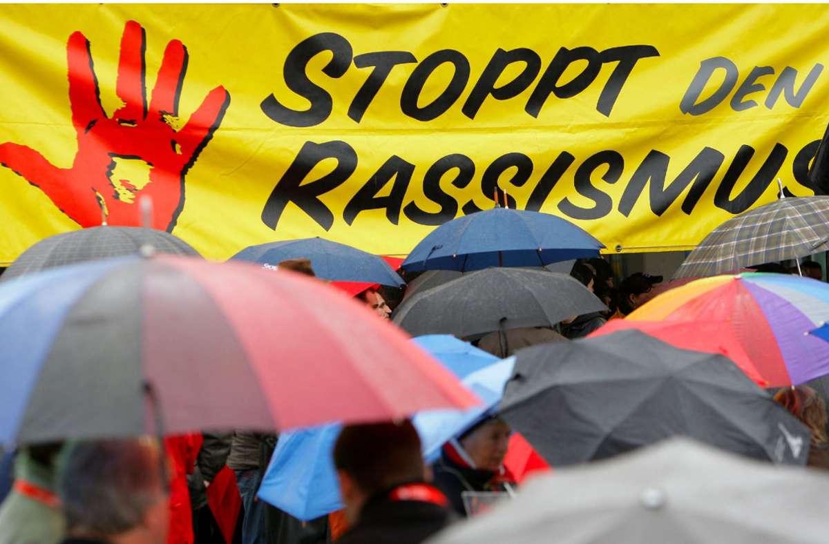 Weltweit demonstrieren Menschen gegen Rassismus. Foto: dpa