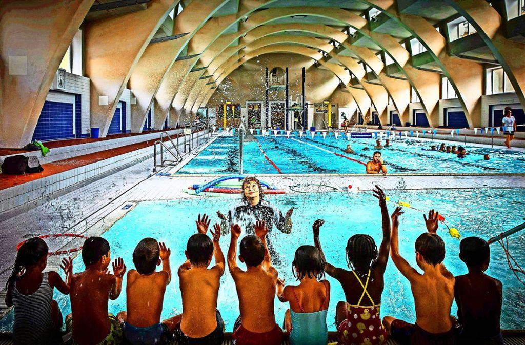 Der Badespaß ist für Vorschulkinder in Stuttgart bald kostenlos. Foto: Lichtgut/Achim Zweygarth