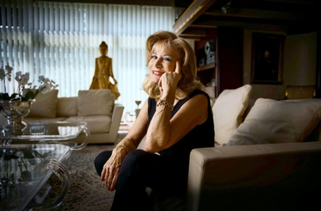 Inzwischen ist Lilian Böhringer  65. Dass ihr das kaum anzusehen ist, schreibt sie ihren Genen zu. Foto: Gottfried Stoppel