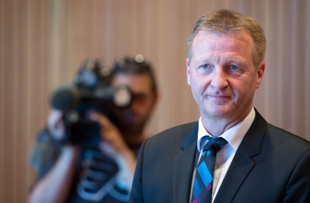 Der nordrhein-westfälische Innenminister Ralf Jäger Foto: dpa