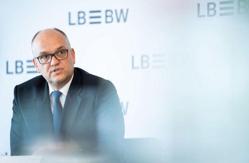Gewinn der LBBW bricht ein