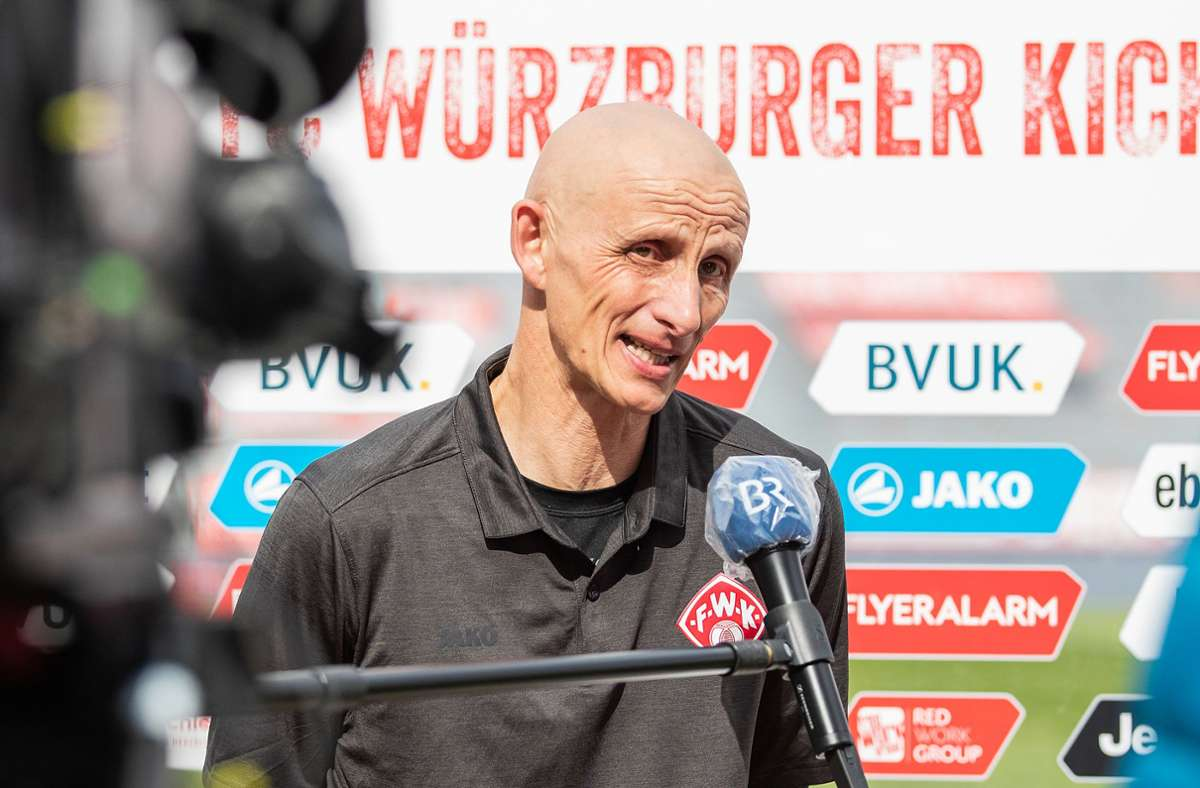 Ralf Santelli, Trainer der Würzburger Kickers Foto: Würzburger Kickers