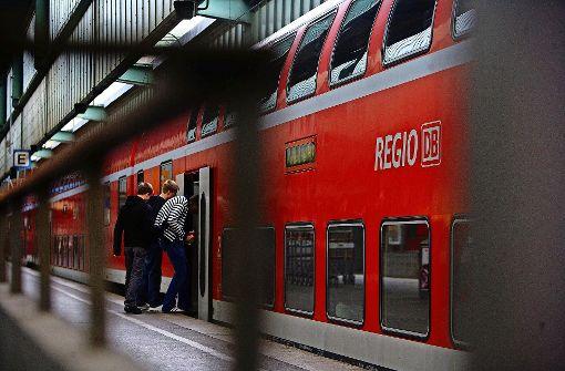 Die Frankenbahn ist unter den Regionalzügen die Linie, die am meisten mit Verspätungen zu kämpfen hat. Foto: Zweygarth/Archiv