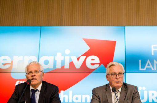 Landtagswahlkampf: AfD-Tandem zieht zurück