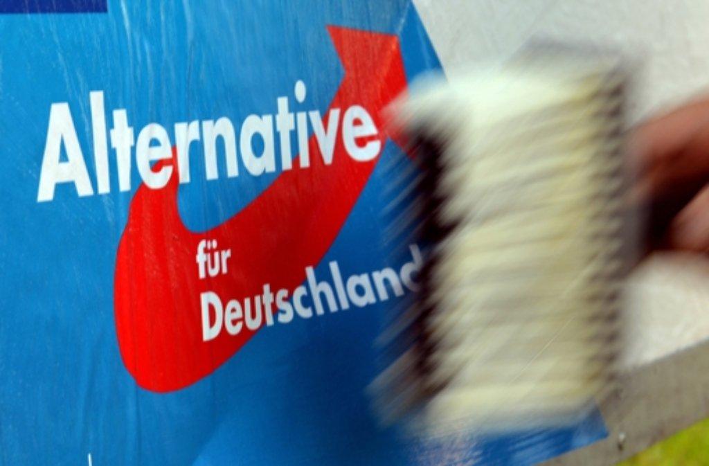 Vor der Landtagswahl am Sonntag haben Unbekannte ihrem Unmut gegenüber der AfD Ausdruck verliehen - auf Kosten des Hotels Maritim in Stuttgart. Foto: dpa/Symbolbild