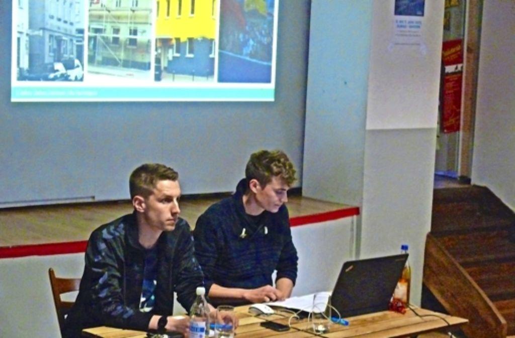 Jens Heidrich (links) und Paul von Pokrzywnicki Foto: Petra Mostbacher-Dix