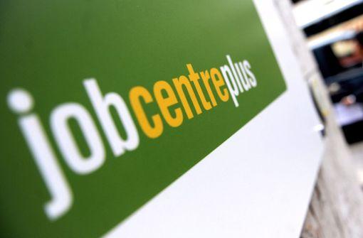 Arbeitslosigkeit in Großbritannien steigt weiter
