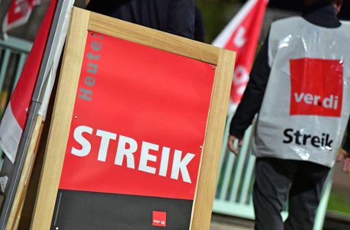 Wieder Warnstreiks im öffentlichen Dienst in Baden-Württemberg