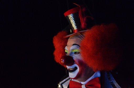 Clowns verunsichern Kinder