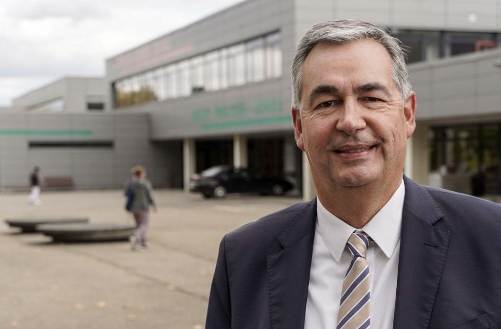 Dietmar Allgaier: Noch Erster Bürgermeister. Bald Landrat? Foto: factum/Jürgen Bach